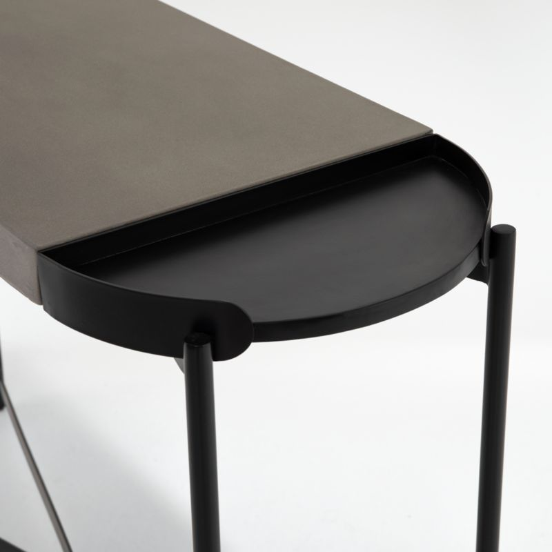 Laurie Grey Console Table