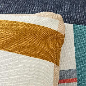 """Outdoor Color Pop Pillow, 20""""x20"""", Peacock"""