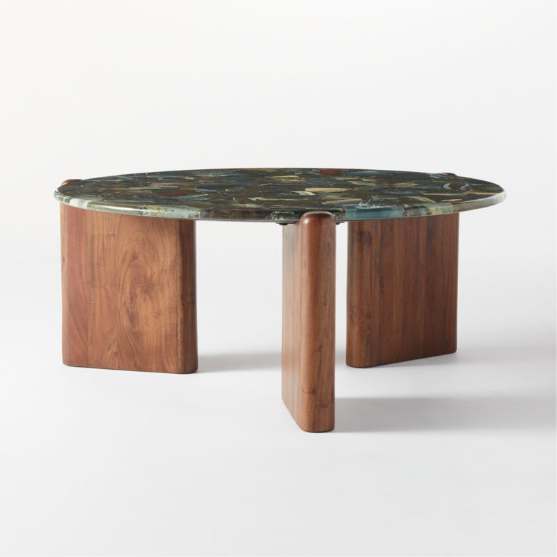 Santoro Green Agate Coffee Table