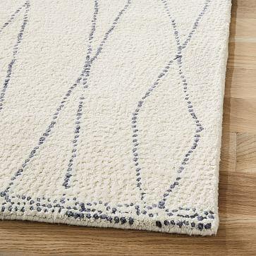 Safi Rug, 6'x9', Stone White