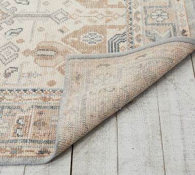 Nicolette Hand-Knotted Rug, Cool Multi, 8x10'