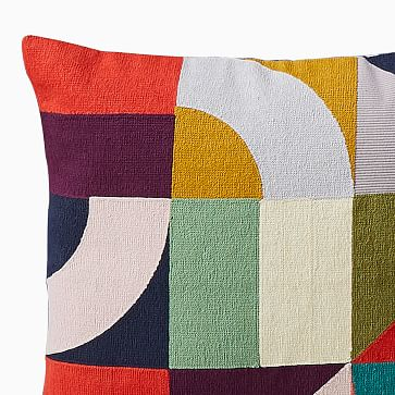 "Margo Selby Puzzle Geo Pillow Cover, 20""x20"", Multi"