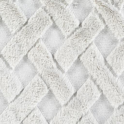 "Hagen Pillow Cover, 20"" x 20"", Light Gray & Pale Blue"