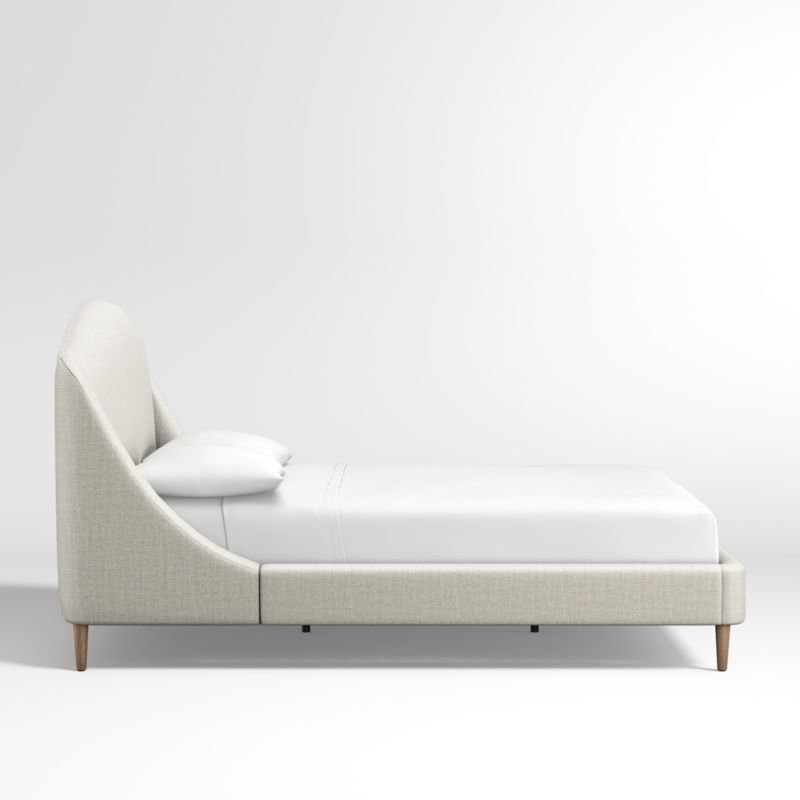 Lafayette Natural Upholstered King Bed without Footboard