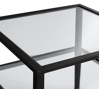 Tanner Square Bunching Coffee Table, Bronze