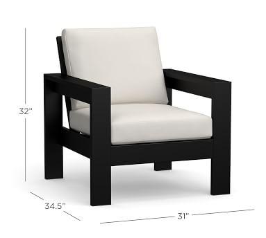 Malibu Metal Lounge Chair Frame