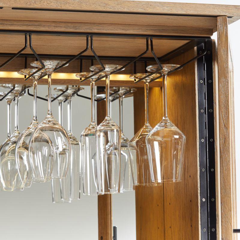 Lemoine Locking Lighted Bar Set