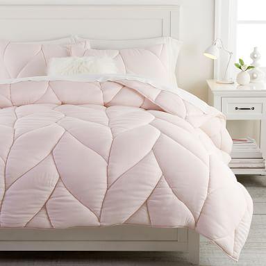 Puffy Comforter, Full/Queen, Powdered Blush
