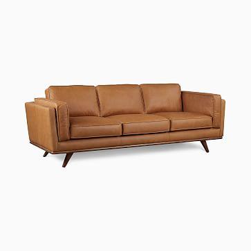 Zander Sofa,Tan,Charme Leather,Almond