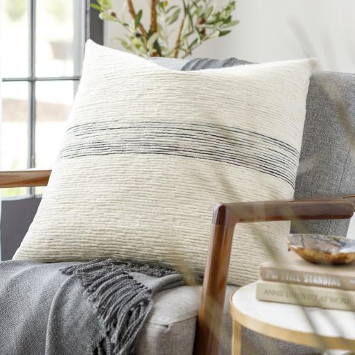 """Burton Pillow Cover, 18"""" x 18"""""""