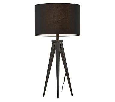 Director Table Lamp, Natural