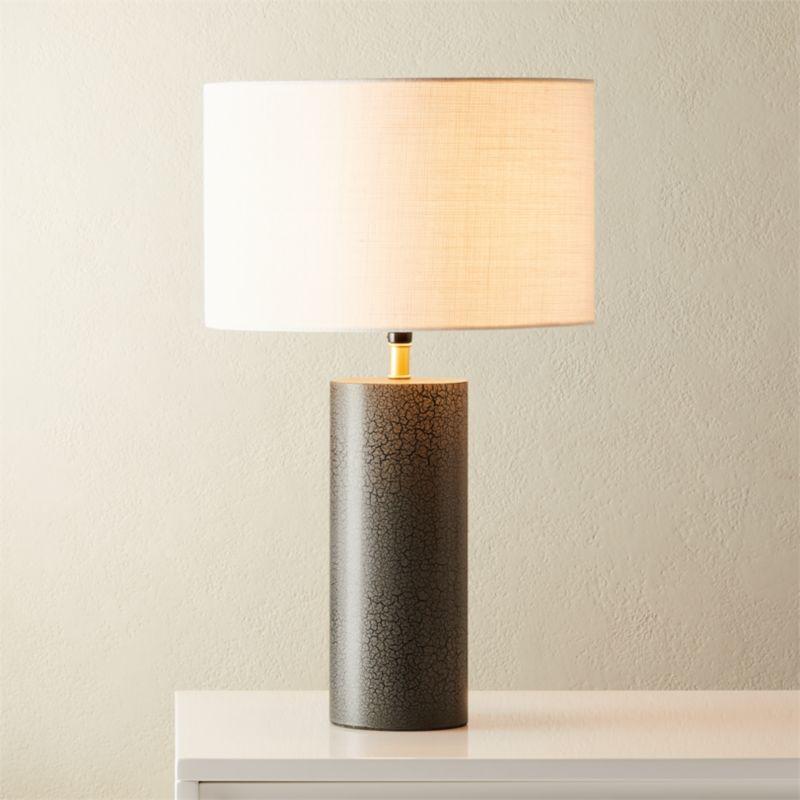 Sahara Grey Table Lamp