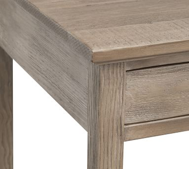 Paulsen Reclaimed Wood Desk, Cinder Gray