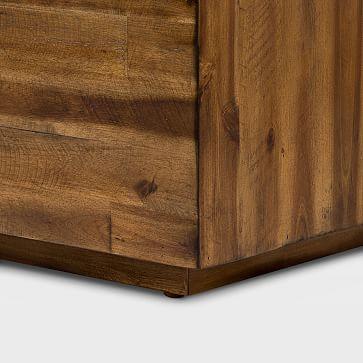 Logan Industrial Slab Coffee Table