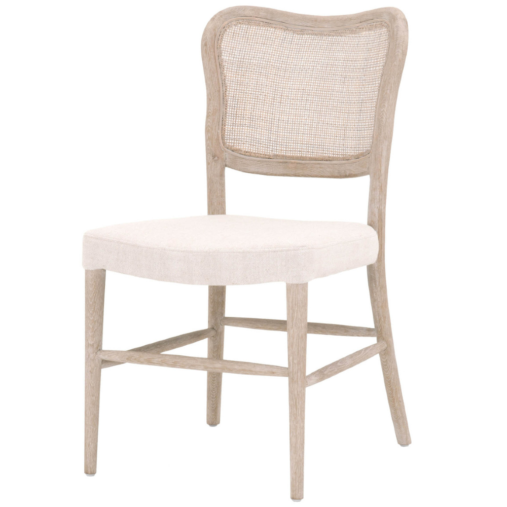 Zachary Rustic Lodge Brown Oak Wood Dining Chair - Set of 2