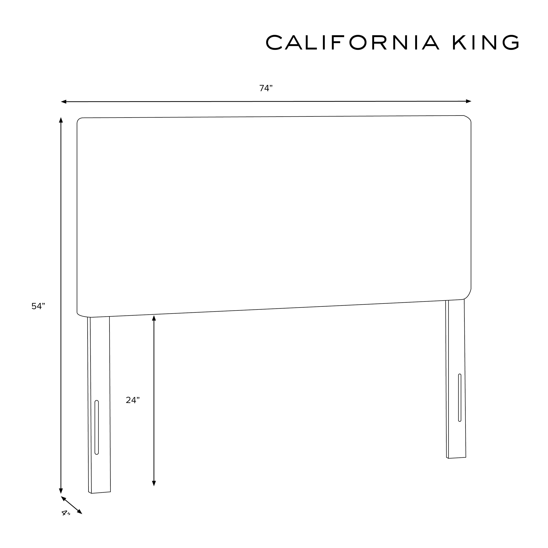 Lafayette Headboard, California King, Linen