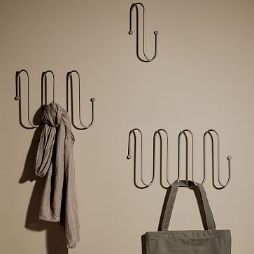 CURL Coat Rack Storage Rack, Large, Nomad Khaki