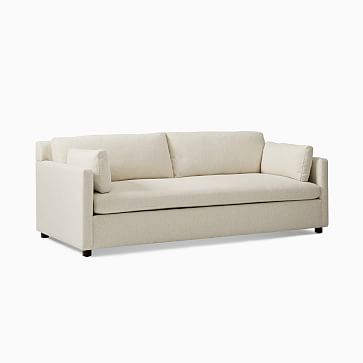 "Marin 85.5"" Sofa,Natural,Performance Basketweave,Concealed Supports"