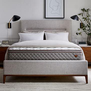 Parker Bed, King, Performance Coastal Linen, Dove