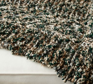 "Elias Chunky Knit Throw, 44 x 56"", Sage Multi"
