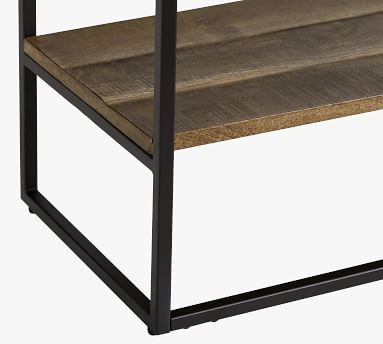 "Sanford 39.5"" Console Table, Cobble Brown"