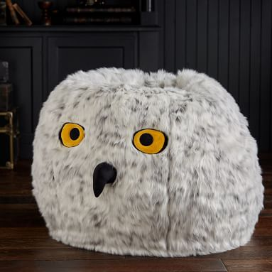 HEDWIG(TM) Owl Bean Bag Chair Set (Slipcover + Insert)