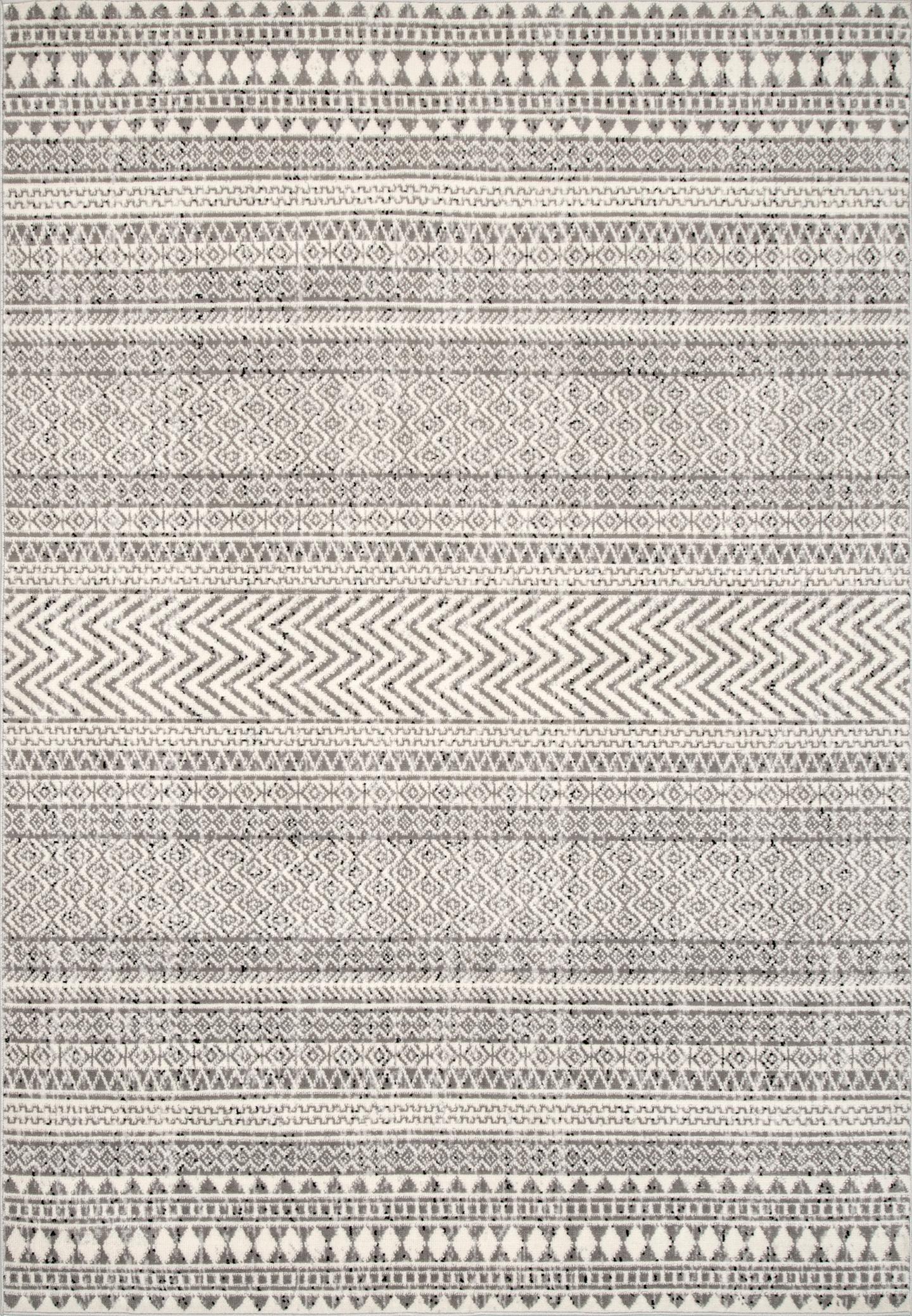 Catherine Henna Tribal Bands Area Rug