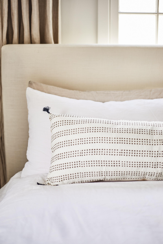 January Lumbar Pillow, Ash