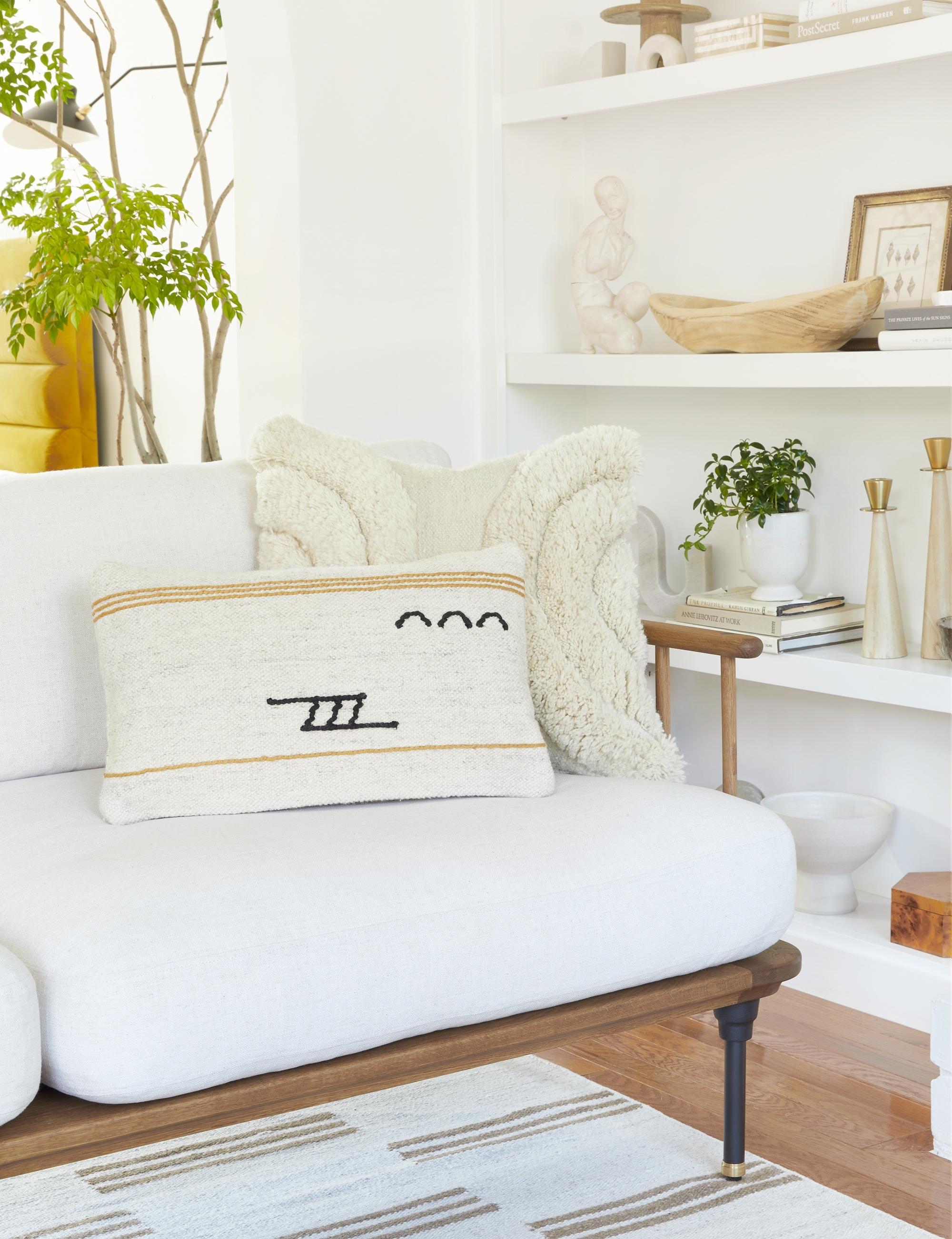 Iconic Stripe Lumbar Pillow By Sarah Sherman Samuel