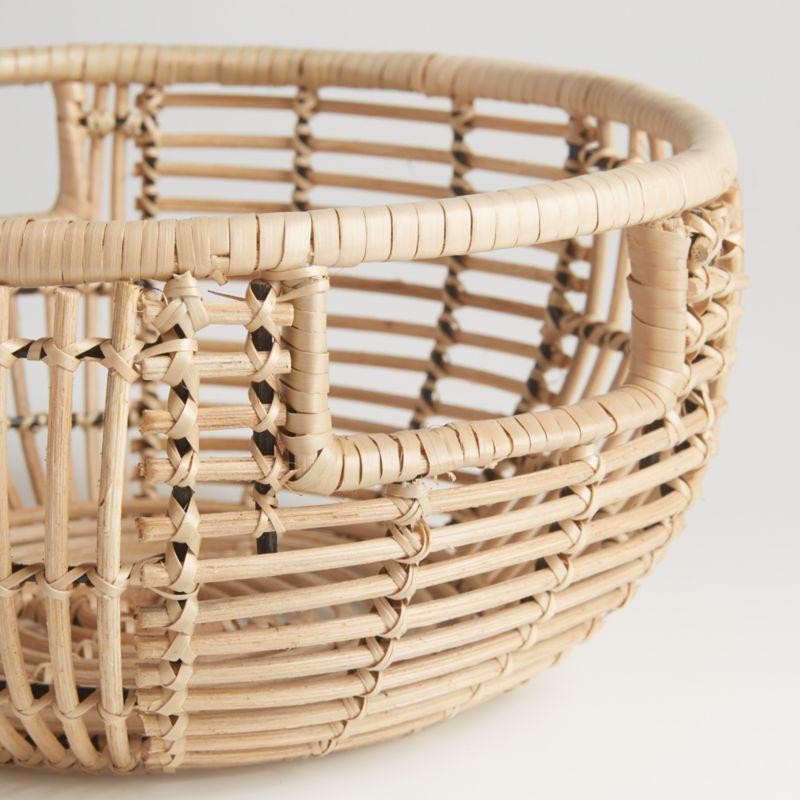 Savrin Rattan Fruit Basket