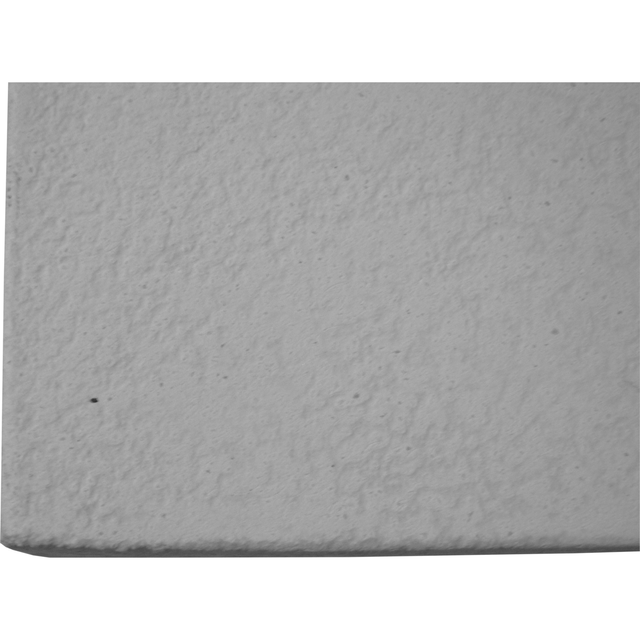 Virginia Modern Rustic Grey Fiberglass Cement Top Teak Wood Stump Outdoor Dining Table - 94 inch
