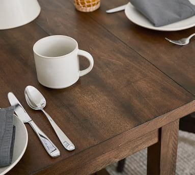 Mateo Drop Leaf Dining Table, Salvaged Black