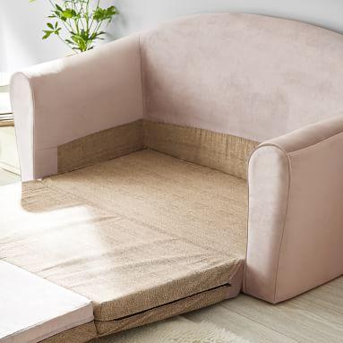 Bristol Sleeper Sofa, Performance Everyday Velvet Light Gray
