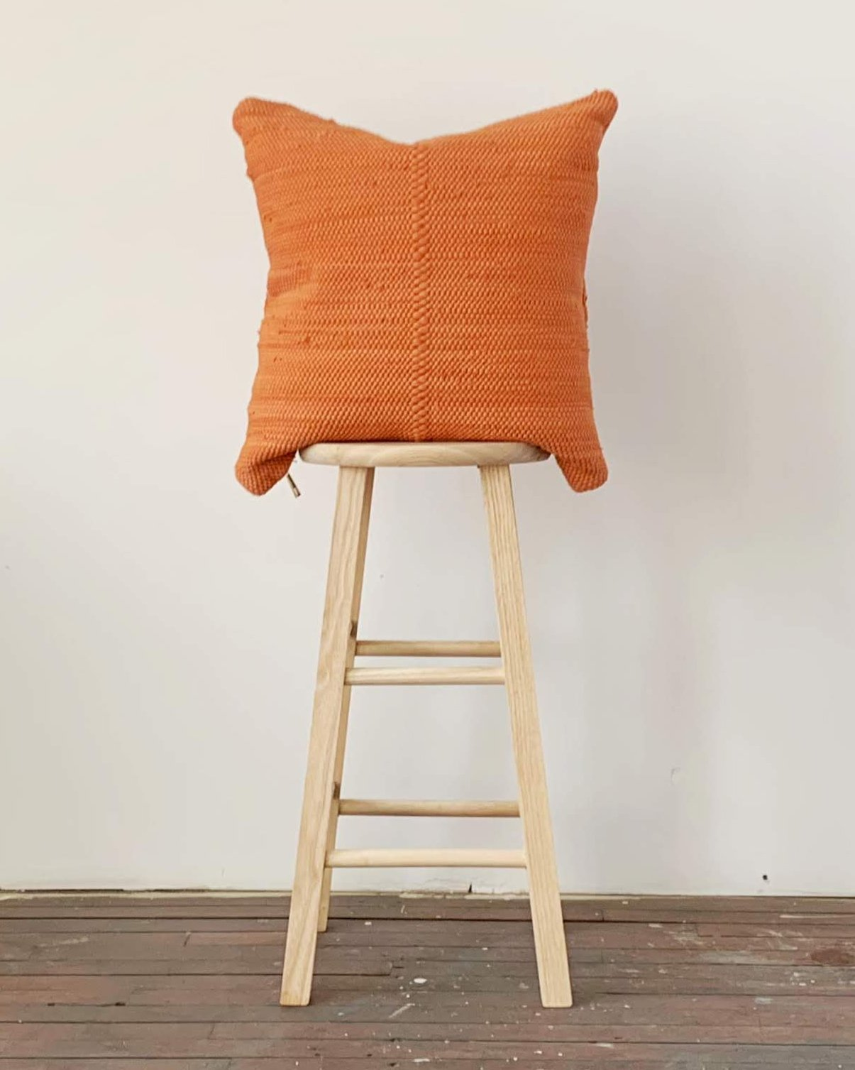 chindi pillow in pottery - with insert
