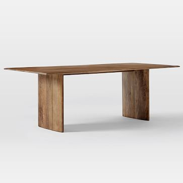 Anton Solid Wood Dining Table, 86""