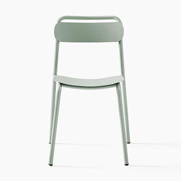 Outdoor Metal Stacking Chair Lush Metal Stacking Chair, Set of 2
