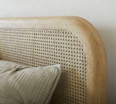 Manzanita Cane Bed, Queen, Bone White