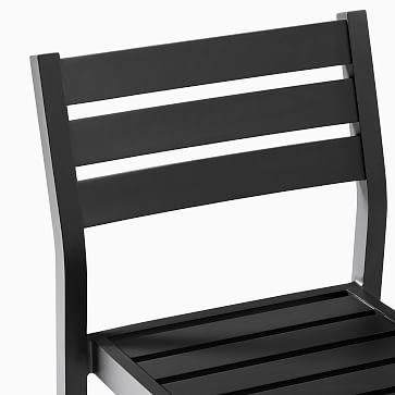 Portside Aluminum Outdoor Dining Chair, Antique Bronze, Set of 2