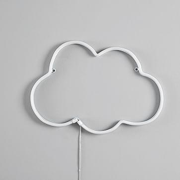 Neon LED Decor, Cloud White