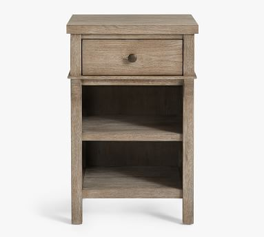 Toulouse Mini Nightstand, Gray Wash